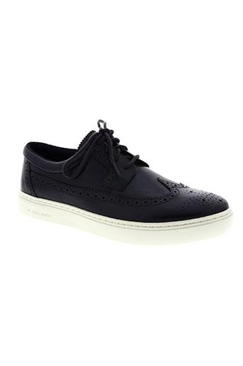 paul smith chaussures homme de couleur bleu