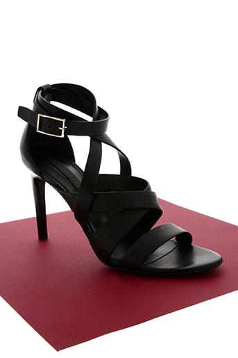 hugo boss chaussures femme de couleur noir