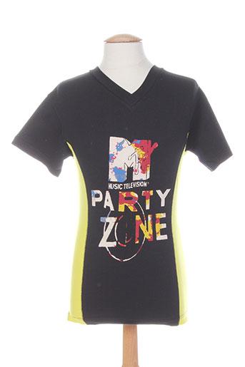 T-shirt manches courtes noir IGUANA pour homme