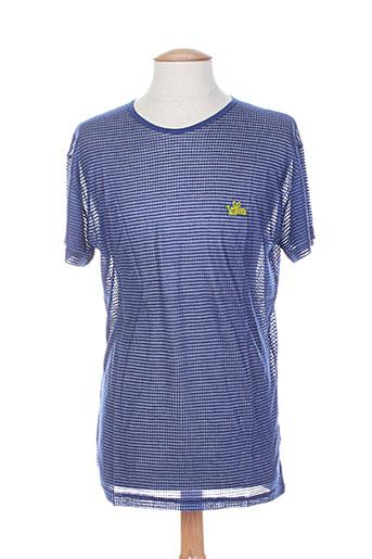 lemon EFFI_CHAR_1 soda t-shirts homme de couleur bleu