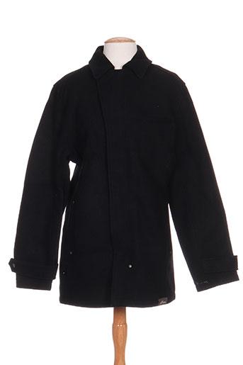 blend manteaux homme de couleur noir