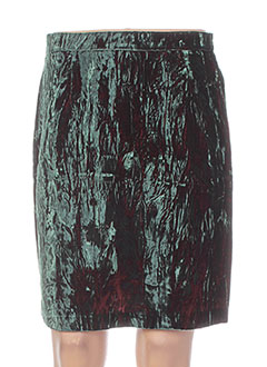 Jupe courte vert ABAYA pour femme