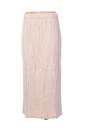 shirting jupes femme de couleur beige