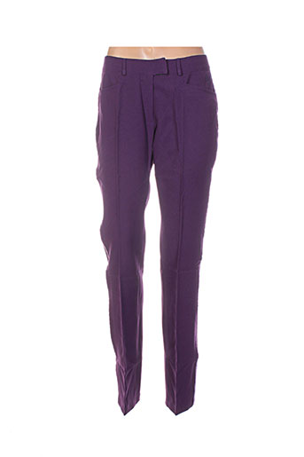 buffalo pantalons femme de couleur violet