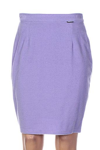 Jupe mi-longue violet ABAYA pour femme