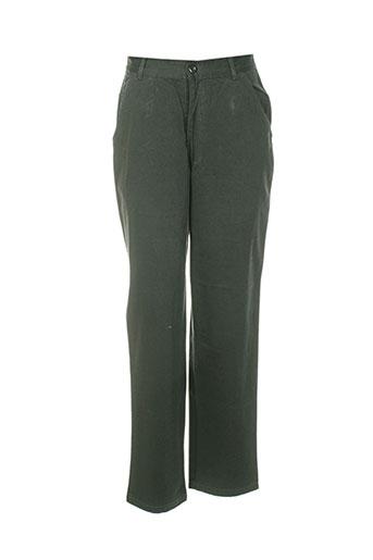 Pantalon casual gris FILLY STON'S pour femme