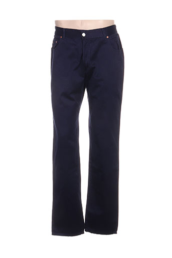 buffalo pantalons femme de couleur bleu