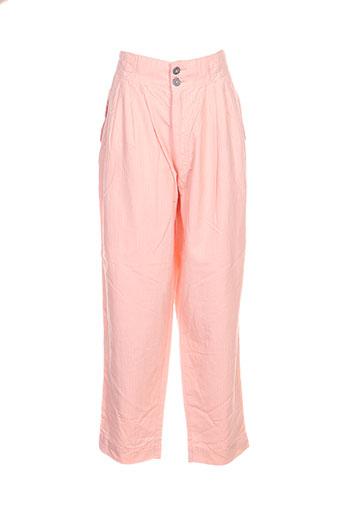 filly ston's pantacourts femme de couleur orange