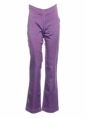 Pantalon casual violet BF & L pour femme