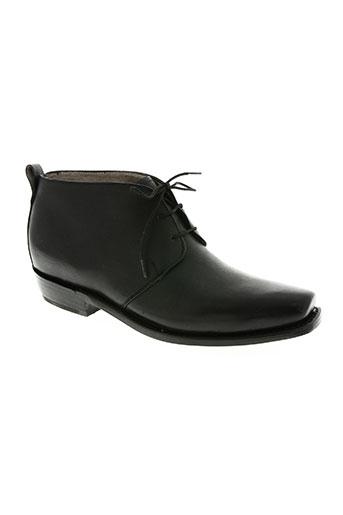 calamex chaussures homme de couleur noir