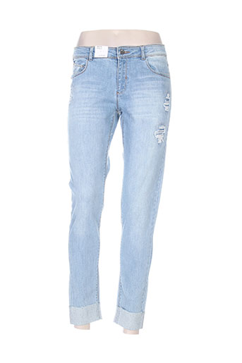 mayoral jeans fille de couleur bleu