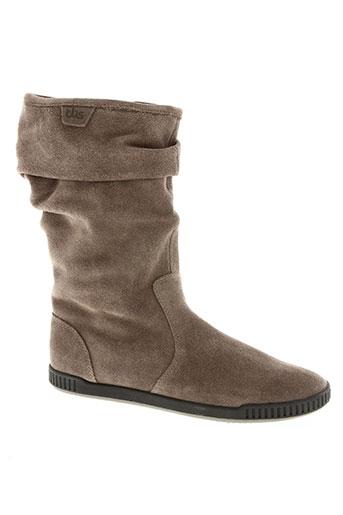 tbs chaussures femme de couleur beige