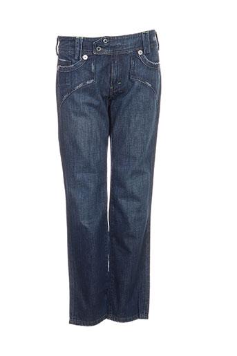 april 77 jeans femme de couleur bleu