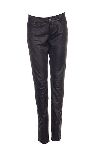 guess pantalons femme de couleur noir