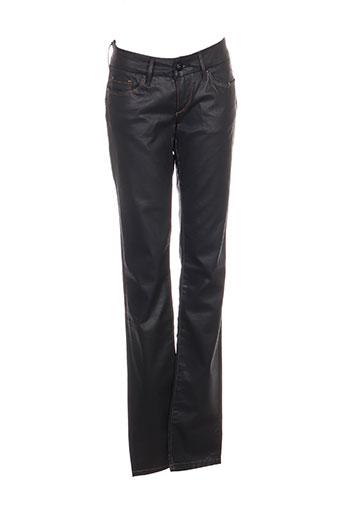 salsa jeans femme de couleur noir