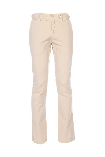 teddy smith pantalons femme de couleur beige