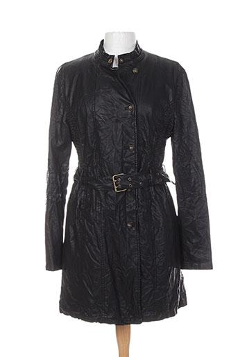 chipie manteaux femme de couleur noir