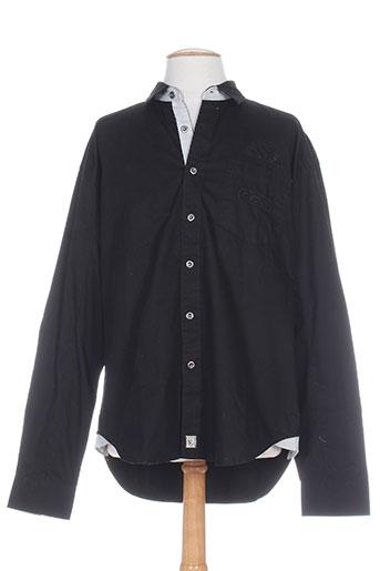 comptoir du rugby chemises homme de couleur noir