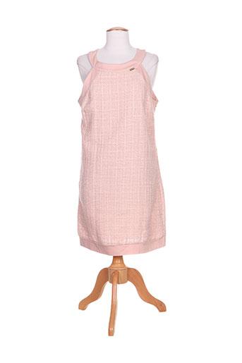 Robe courte rose COCONUDA pour femme