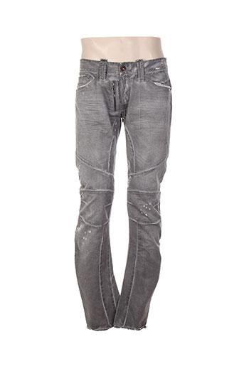 bray steve alan pantalons homme de couleur gris