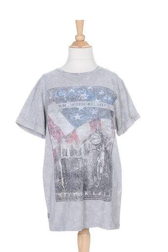 ritchie t-shirts / tops garçon de couleur gris