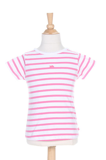 week end a la mer t-shirts fille de couleur rose