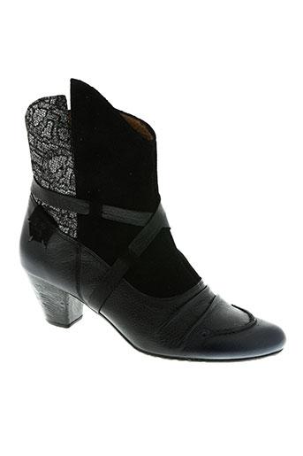 maciejka obuwie chaussures femme de couleur noir