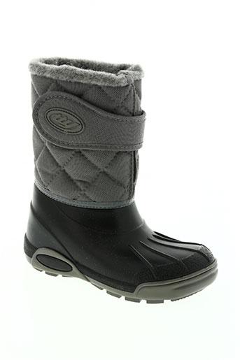 tty chaussures enfant de couleur gris
