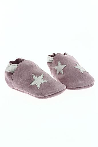 shooshoos chaussures fille de couleur rose