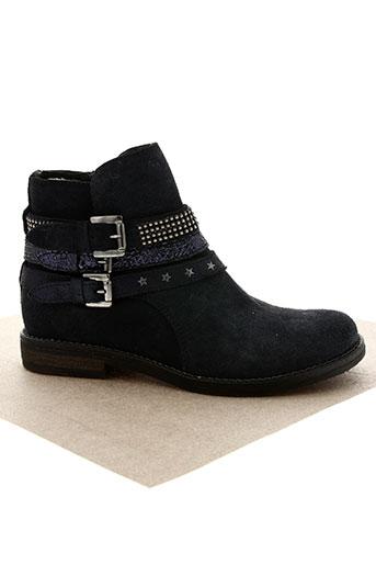 reqins chaussures fille de couleur bleu