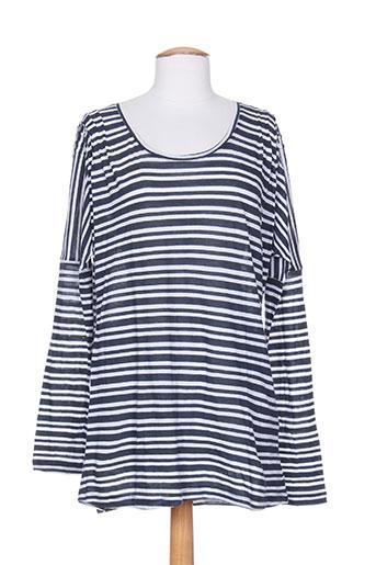 ethos t-shirts femme de couleur bleu