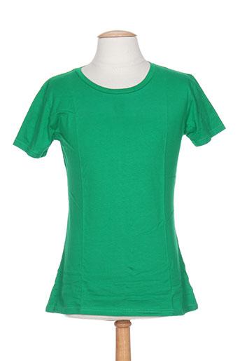 juste t-shirts / tops femme de couleur vert