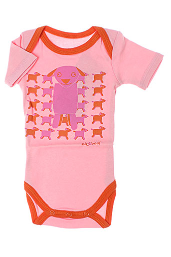kik&boo t-shirts fille de couleur rose