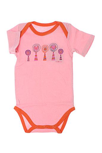 kik&boo t-shirts fille de couleur rose
