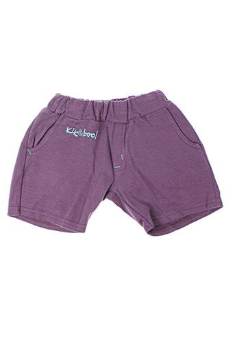 kik EFFI_CHAR_1 boo shorts / bermudas fille de couleur violet