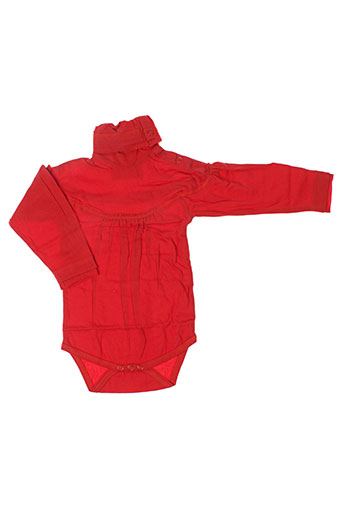 Body rouge IDEO pour fille