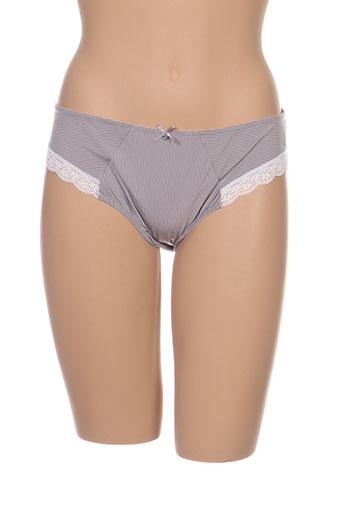 manaïs lingerie femme de couleur gris