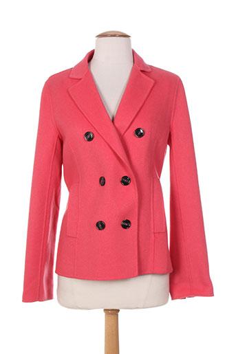 maxmara vestes femme de couleur rose