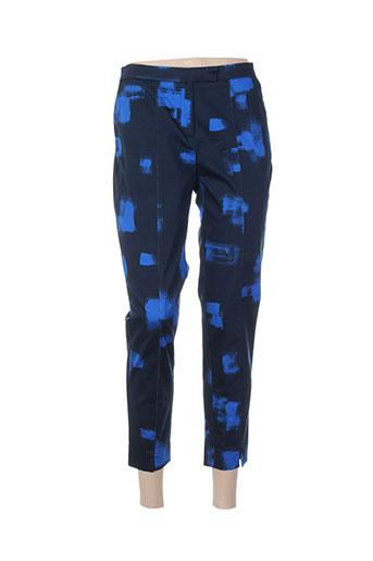 chacok pantacourts femme de couleur bleu