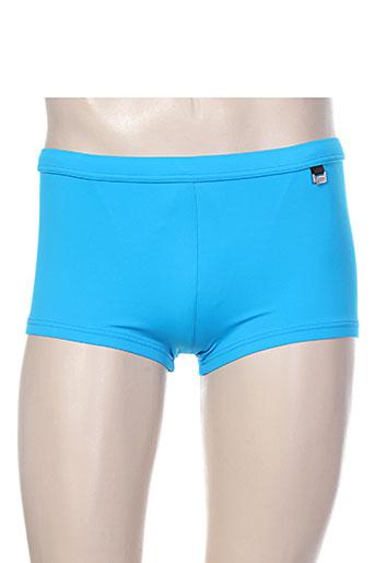 hom maillots de bain homme de couleur bleu