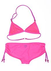 Maillot de bain 2 pièces rose FREEGUN pour fille seconde vue