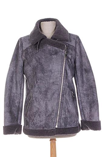 ead200e53f9 Galeries Lafayette. mkt studio manteaux femme de couleur gris