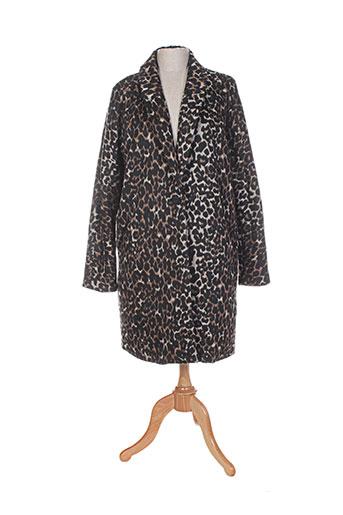 school rag manteaux femme de couleur noir