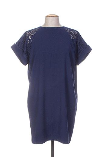 an' ge robes femme de couleur bleu