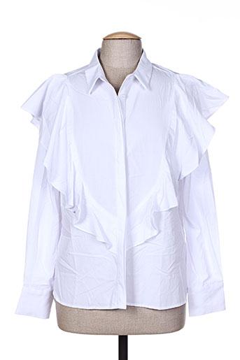 an' ge chemises femme de couleur blanc