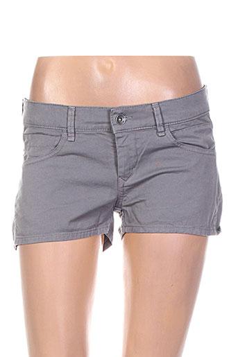 couturist shorts / bermudas femme de couleur gris