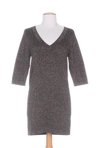 Robe pull marron I.CODE (By IKKS) pour femme