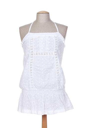 sidecar chemises femme de couleur blanc