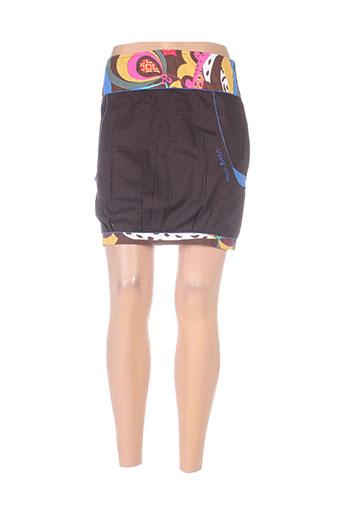 sidecar jupes femme de couleur marron