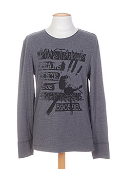 Produit-T-shirts / Tops-Homme-MUSTANG